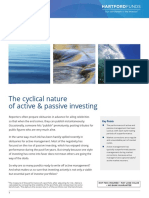 The Cyclical Nature of Active & Passive Investing