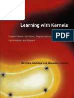 Learning With Kernels [2002]