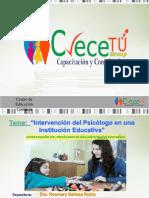 Intervencion Del Psicologo Institucion Educativa-julio2017