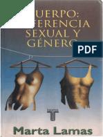 Marta Lamas - Cuerpo. Diferencia Sexual y Genero