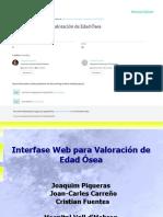 Interfase Web Para Valoracion de Edad Osea