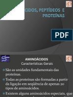 Aminoácidos, Peptídeos e Proteínas