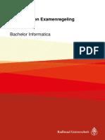 Onderwijs- En Examenregeling 2017-2018 Bachelor Informatica