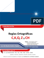Reglas Ortográficas C,K,Q,Z y CH