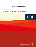 Onderwijs- En Examenregeling 2017-2018 Bachelor Molecular Life Sciences