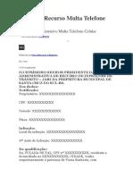 DEFESA MULTA 1
