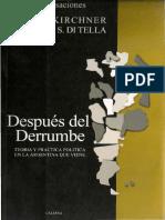 DESPUÉS DEL DERRUMBE, de Néstor Kirchner y Torcuato S. Di Tella (2002)