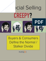Is Social Selling Creepy the Normal Stalker Divide