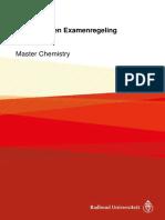 Onderwijs- En Examenregeling 2017-2018 Master Chemistry