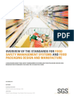 Food Safety Management Systems Food Design Manufacture