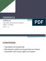 DINAMICA - CINEMATICA DE LA PARTICULA