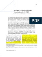 Culture and Conversion Disorder DSM-5 (2011)