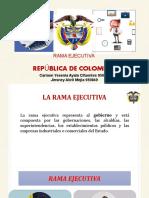 Rama Ejecutiva Exposicion
