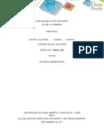 Analisis de Accion Solidaria