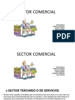 Sector Comercial