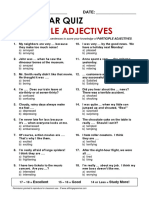 Adjectives With Ed and Ing 2