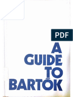 A Guide to Bartok by Gyorgy Kroó