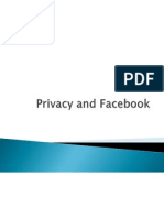 Privacy and Facebook