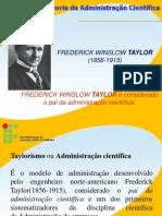 02 - Perspectivas Clássicas Da Administração_Taylor