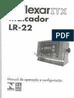 Manual Indicador Lr-22