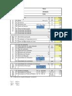 Planilha Para Cálculo Luminárias - Método Da Eficiência