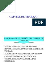 Capital de Trabajo 1