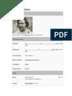 Extracto de Biografia de Honoré de Balzac en Espanol