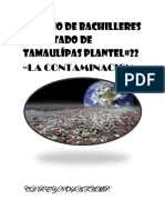 Qué Es La Contaminación