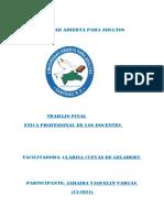 Orientaciones Para La Práctica Final de Ética Profeesional de Los Docentes (1)