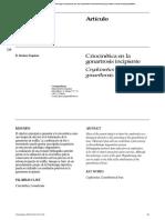 Criocinetica en La Gonartrosis Incipiente