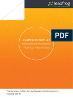 Leapfrog Geo 4.1 Release Notes