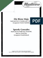 Die Biene Maja -La Abeja Maya - Arreglo Norbert Studnitzky