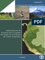 Gestión de Risgos Volcán Tungurahua (FAO)