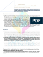 Posicionamiento de La MCC-SLV Ante Las Negociaciones de La COP-23 en 2017 Para La Implementación Del Acuerdo de París y Más Allá - 27Oct2017