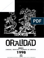 oralidad latinoamericana
