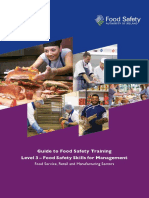 Fsai Food Safety Management Training Guide