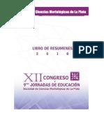 2010 - SCMLP - Libro de Resúmenes