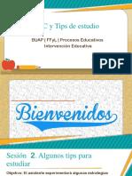 TIC y Tips de Estudio Sesión 2