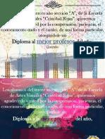 Certificado a Los Prof.