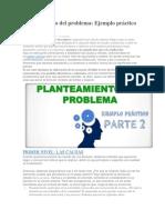 Planteamiento Del Problema 2