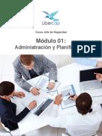 Módulo 1 Administración y Planificación