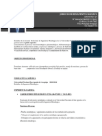 CV Jorge Benavente ND