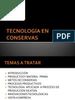 Tecnologia de La Industria Conservera - Presentacion