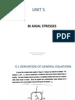 Unit 5.Biaxial Stresses