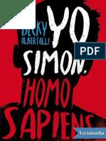 Yo Simon Homo Sapiens - Becky Albertalli