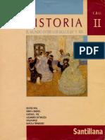 VIDAL, Beatriz y Otros (1997) - Historia II. El Mundo Entre Los Siglos XV y XIX (Santillana)
