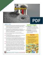 Home Fire Sprinkler for Safety
