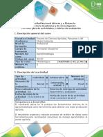 Guía de Actividades y Rúbrica de Evaluación - Paso 3 – Segunda Entrega ABP