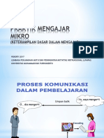 14. Praktik Mengajar Mikro