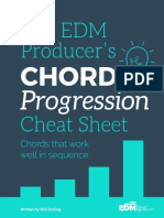 Chord Progressions Cheat Sheet - EDMtips.com